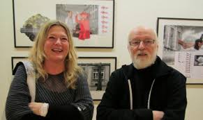 With Jan Svankmajer, opening of the exhibition in the Czech Centre Rotterdam, 2010